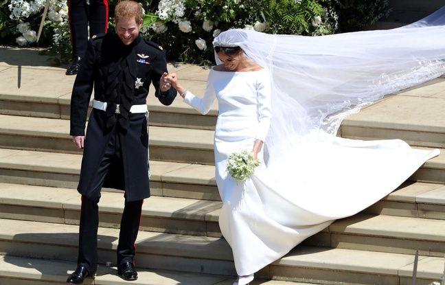 nouvel ordre mondial   VIDEO. Mariage princier: Meghan Markle portait une robe de mariée française, «sobre et élégante» créée par Givenchy