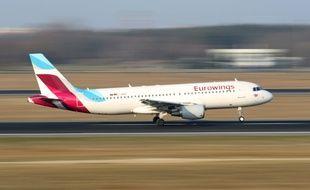 Un avion de la compagnie Eurowings