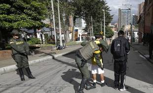 La police colombienne (illustration).