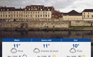 Météo Besançon: Prévisions du mardi 11 mai 2021