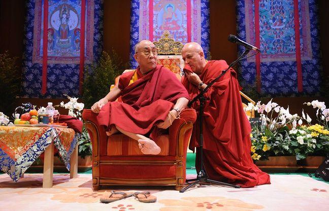 Le Dalai Lama au Zénith de Nantes en 2008