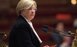 Catherine Vautrin à l'Assemblée nationale le 10 mars 2009.