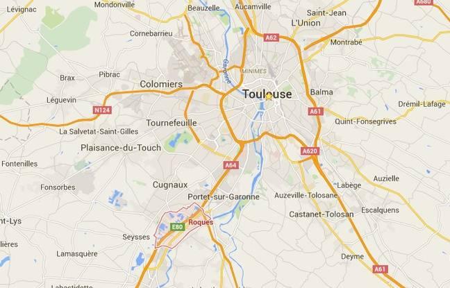 La commune de Roques-sur-Garonne, au sud-ouest de Toulouse.