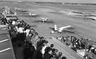 Départs des avions à l'aéroport d'Orly