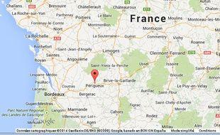 Google Maps de Périgueux