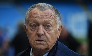Jean-Michel Aulas, pas super content