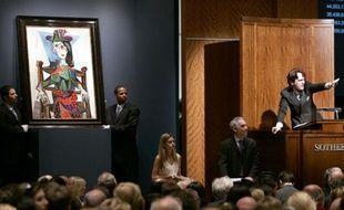Dora Maar a inspiré Picasso pour de nombreux tableaux, comme ici «Dora Maar au chat» adjugé le 3 mai 2006 à 95,2 millions de dollars