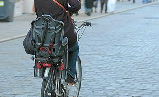Les vélos représentent seulement 5% des déplacements à Rennes.