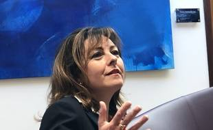 La présidente de la région Occitanie, Carole Delga, le 18 janvier 2021.