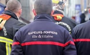 Illustration de pompiers, ici à Rennes.