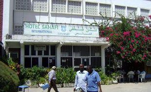 L'hôtel Sahafi, dans la capitale somalienne Mogadiscio, photographié en 2009.