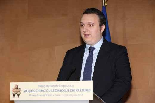 Le petit-fils de Jacques Chirac a rejoint Emmanuel Macron !