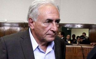 Dominique Strauss-Kahn au tribunal, le 19 mai 2011.