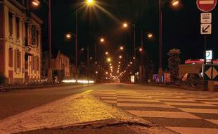 A Cesson-Sévigné, l'éclairage public est coupé la nuit depuis 2010.
