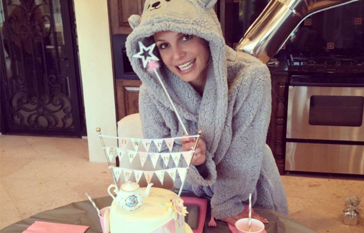 Britney Spears a fêté ses 34 ans le 2 décembre 2015. – Britney Spears - Facebook