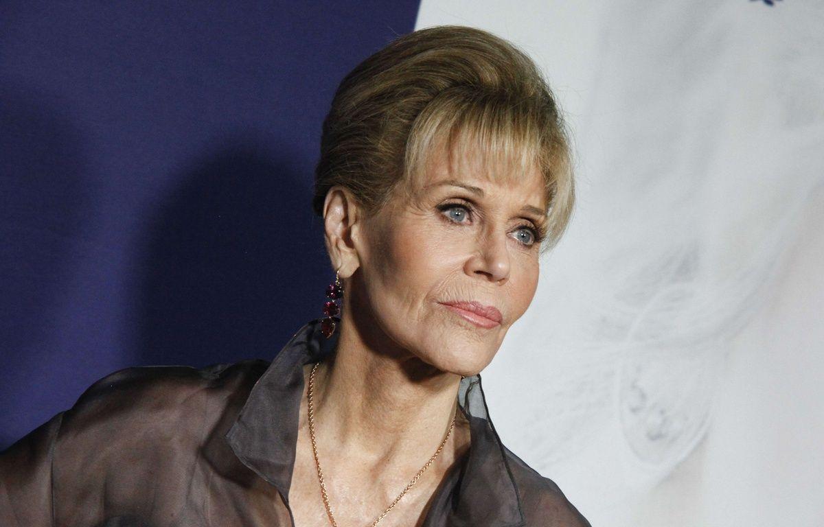 L'actrice Jane Fonda regrette de ne pas voir dénoncé le comportement du producteur Harvey Weinstein alors qu'elle était au courant depuis un an.  – Andy Kropa/AP/SIPA