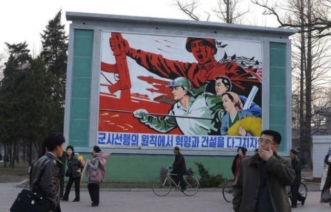 """La Corée du Nord, sommée par Washington d'arrêter de """"jouer avec le feu"""" et de renoncer au tir de missile qu'elle semble vouloir effectuer, tenait jeudi le monde en alerte en célébrant ses dirigeants défunts ou vivants."""