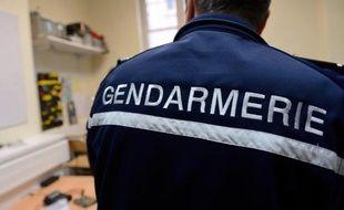 Un gendarme le 9 janvier 2014 à Arras, dans le nord de la France