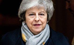Theresa May, le 15 janvier 2019 à Londres, au moment du vote crucial sur le Brexit.