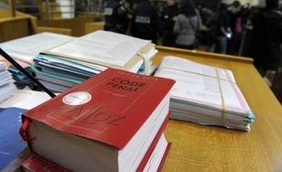 Un Code pénal au tribunal de Nîmes. (archives)