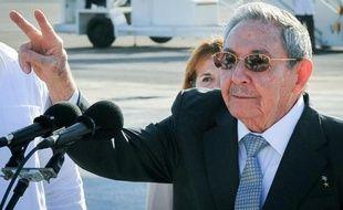 Le président cubain Raul Castro le 12 mai 2015 à La Havane