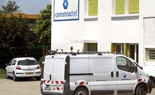 Les locaux de Constructel, ici à Valence en 2005. (archives)