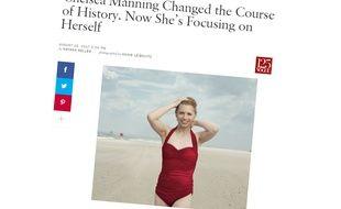 Dans son numéro de septembre 2017, le «Vogue» américain consacre un article à Chelsea Manning.