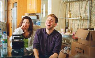 L'actrice Anne Dorval et le réalisateur Xavier Dolan sur le tournage de «Mommy».