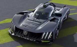 Peugeot 9x8 Hypercar Le Mans