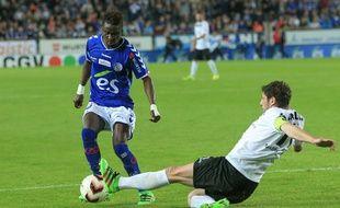 Mayoro N'Doye et le Racing club de Strasbourg ont l'occasion d'obtenir leur montée en Ligue 2 à Belfort, ce vendredi. La condition? Ne pas perdre! (Archives)