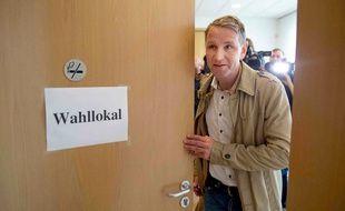 La tête de liste de l'AfD pour les élections en Thuringe, Bjoern Hoecke, est l'une des plus radicale du parti.