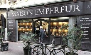 La maison de l'Empereur se situe dans le quartier de Noailles à Marseille depuis 1827