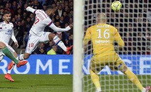 Lyon fait match nul (2-2) contre l'ASSE, le 19 avril 2015.