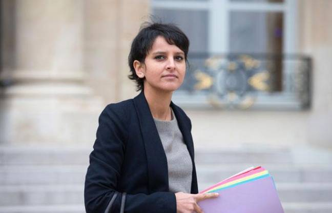 La porte-parole du gouvernement et ministre des Droits des femmes, Najat Vallaud-Belkacem, le 9 janvier 2013, à Paris.