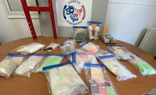 La saisie du service de sûreté départementale des Alpes-Maritimes comprend plus de 30 kg de drogues qui correspondent à un montant de plus de 189.000 euros