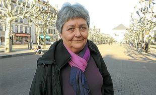Pierrette Morinaud, ancienne enseignante et militante à LO depuis 1969.