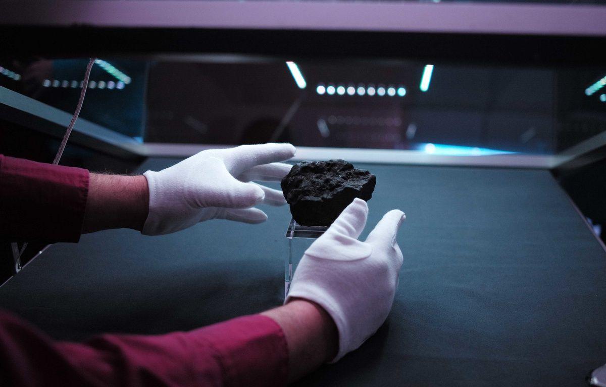 Bientôt une chasse citoyenne pour retrouver les météorites tombées en Alsace (Illustration au Planétarium de Nantes) – Fabrice Elsner/20 MINUTES