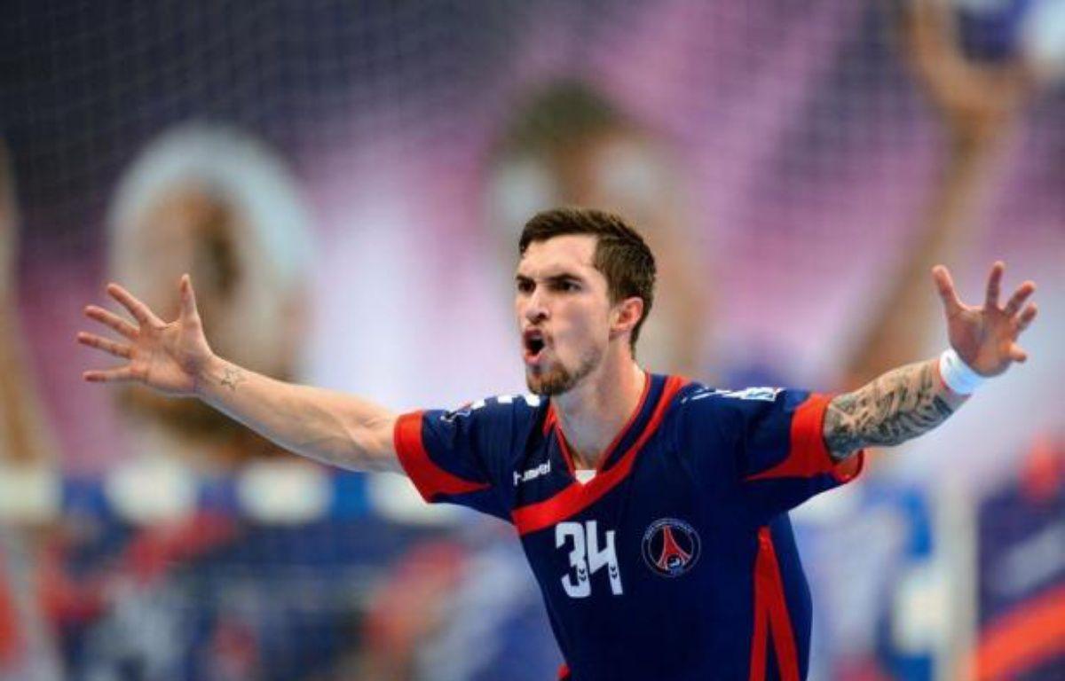 Samuel Honrubia et Mladen Bojinovic, mis en examen dans l'affaire des soupçons de match truqué, ont réintégré le groupe du PSG Handball, a-t-on appris auprès du club mardi. – Franck Fife afp.com