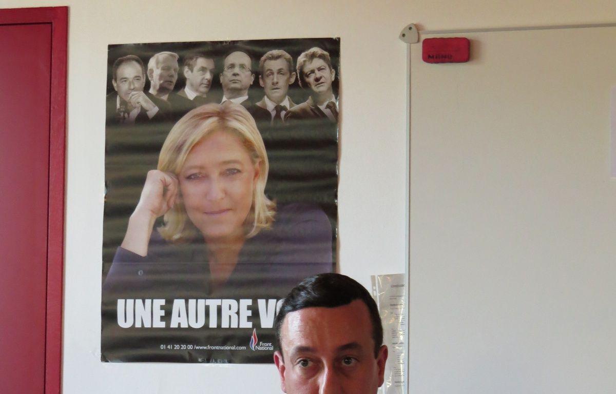 Nantes, le 13 juin 2014,  Alain Avello, secrétaire départemental du Front national de Loire Atlantiqu – Frederic Brenon / 20 Minutes