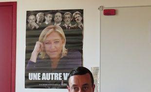 Nantes, le 13 juin 2014,  Alain Avello, secrétaire départemental du Front national de Loire Atlantiqu