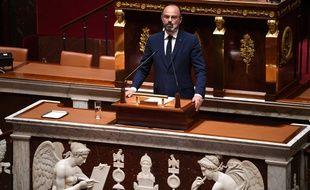 Edouard Philippe évoque le déconfinement à l'Assemblée nationale le 28/04