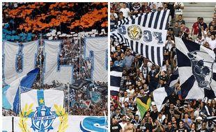 La rivalité entre les supporters marseillais et bordelais a bien évolué.