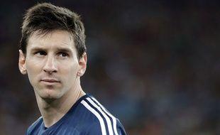 Lionel Messi le 13 juillet 2014 lors de la finale du Mondial.