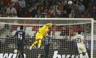 Un Alphonse Areola de grande classe sauve la France contre l'Allemagne
