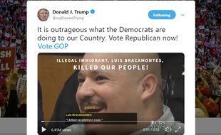 Ce clip anti-migrants de Donald Trump a suscité une vive polémique aux Etats-Unis.