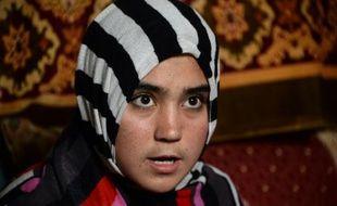 L'Afghane Aziza Rahimzada, le 15 octobre 2015, à Kaboul
