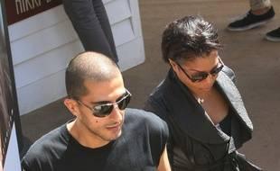 Wissam Al Mana et Janet Jackson lors d'un séjour à Cannes