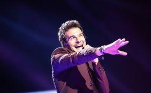 Amir, candidat de la France à l'Eurovision 2016.