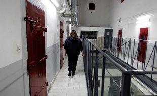 La prison d'Ajaccio.