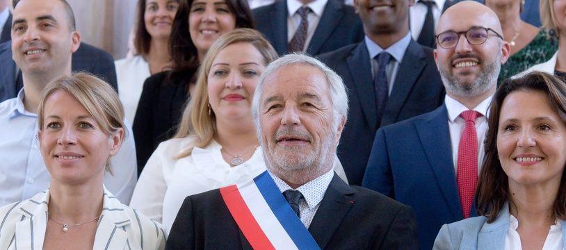 Le maire PS de Dijon, François Rebsamen.